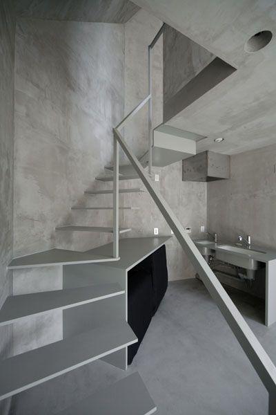 elegant staircase design kerala