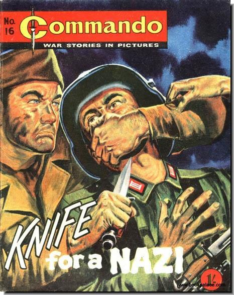 Commando comics WW2