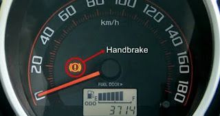 Lampu indikator pada mobil