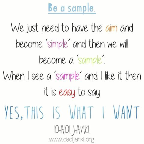 Be Sample