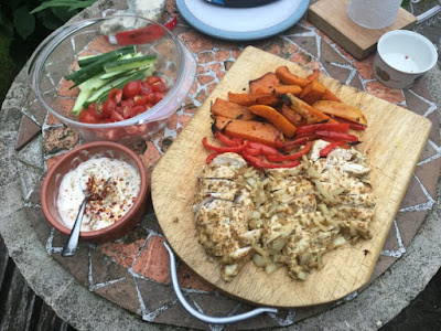 Lebanese Chicken Wrap Sandwich Recipe