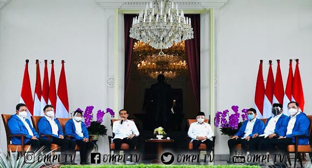 Daftarnya Reshuffle Kabinet Resmi Indonesia Maju 2019-2024
