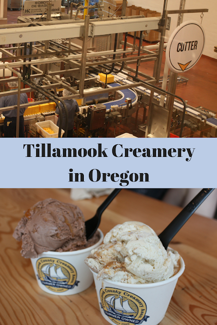 Learning about cheese making and enjoying creamery treats at Tillamook Creamery in Oregon