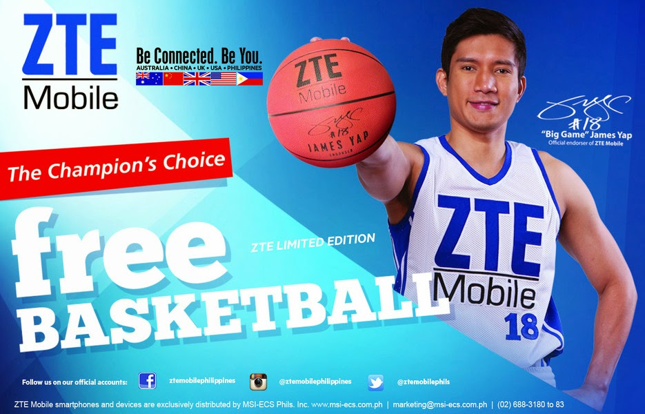 ZTE Philippines, James Yap