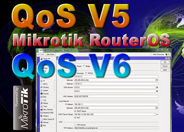 Comparing QoS V5 and QoS V6 Mikrotik Router OS