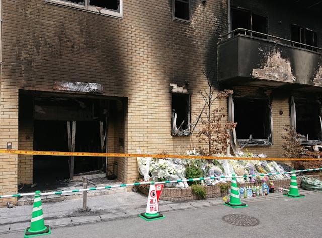 Begini Respon Pelaku Pembakaran Studio KyoAni saat Diberitahu Jumlah Orang yang Tewas akibat Ulahnya
