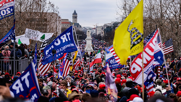 A study shows VERY FEW Capitol Hill rioters were QAnon red-staters with ties to 'right-wing' groups