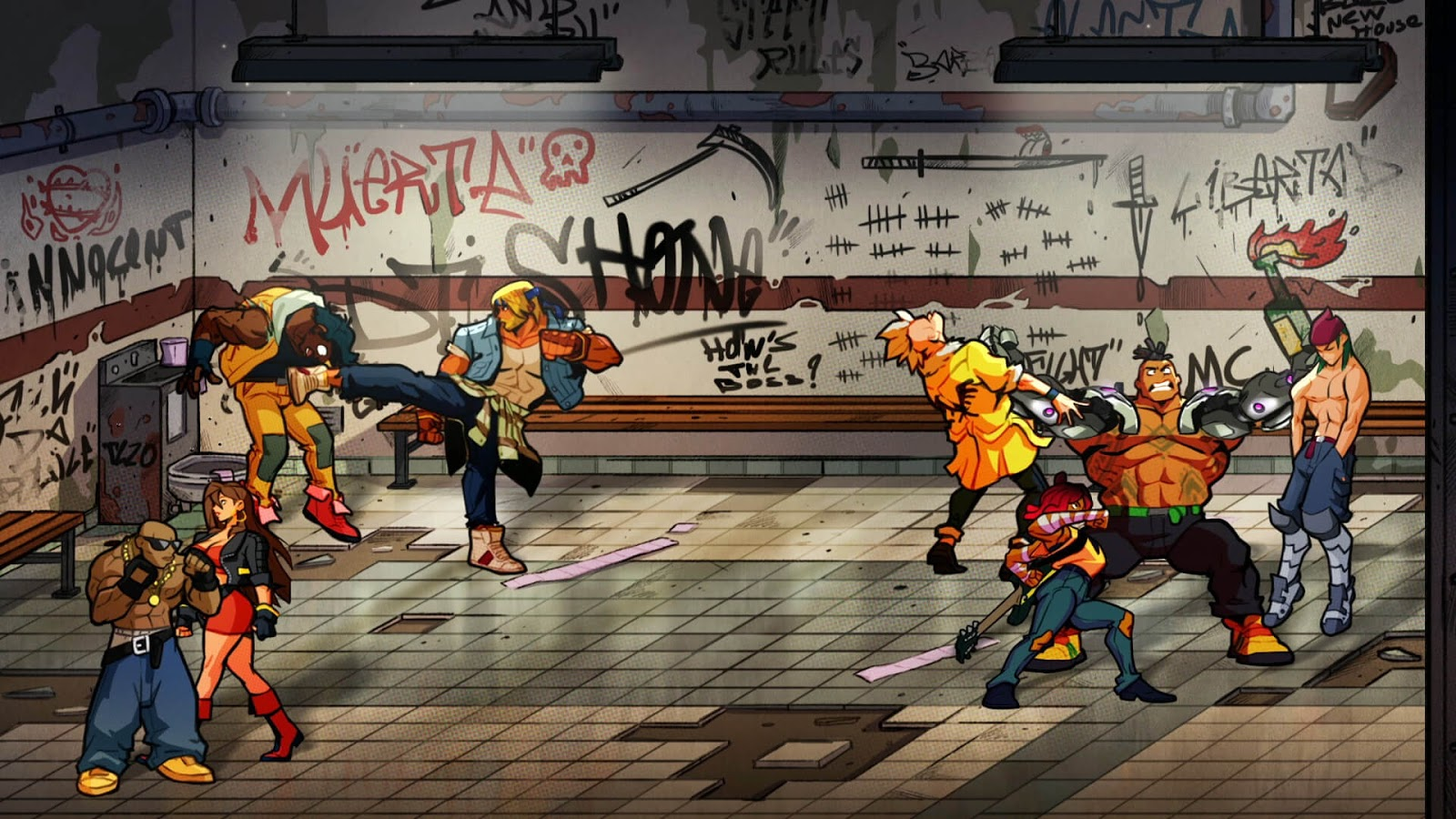 Streets Of Rage 4 Full Español