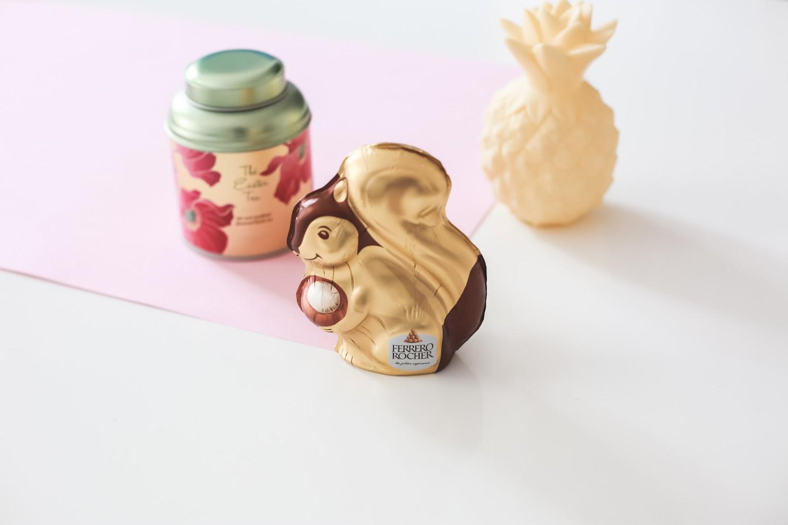 Écureuil en chocolat Ferrero Rocher
