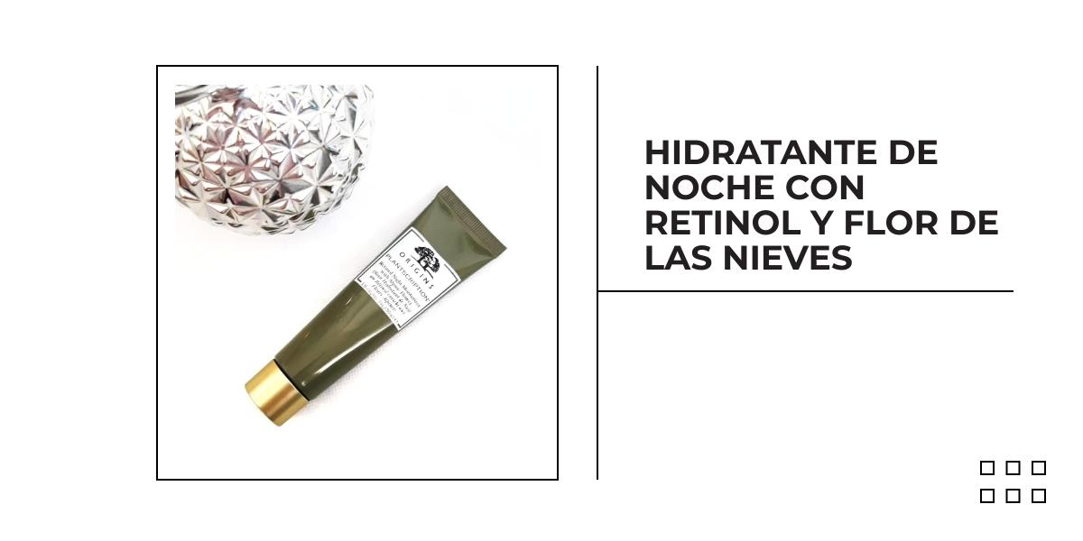 HIDRATANTE DE NOCHE CON RETINOL Y FLOR DE LAS NIEVES