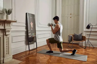 Each session will cost $40, Mirror Interactive Fitness, which produces a reflective LCD monitor for home workouts,