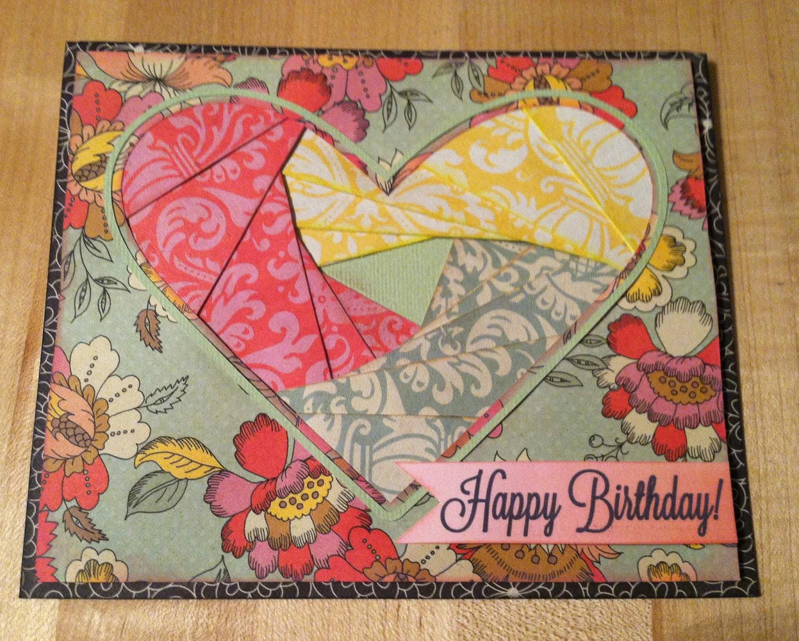 Deb S Crafty Side Iris Fold Cards