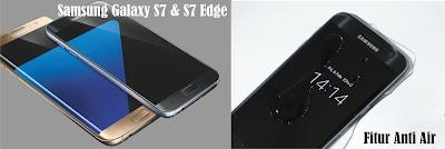 Desain Samsung Unik dan Fitur Anti Air