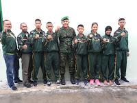 Kejuaraan Karate Terbuka Danrem 022/PT Cup Dalam Rangka Memperebutkan Piala Bergilir Tahun 2019