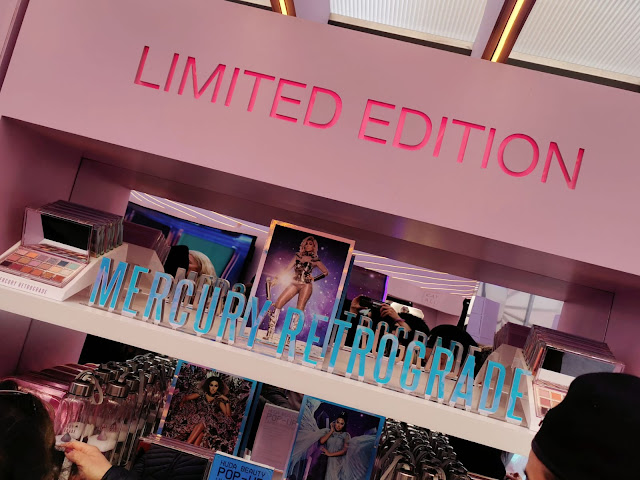 THE LIMITED EDITION STAND AT THE HUDA BEAUTY POP UP EVENT