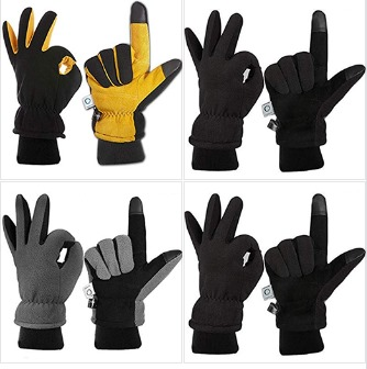 Thermal Fleece Gloves 70% OFF