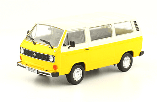 volkswagen T3 Kombi Luxus 1979 1:43, volkswagen collection, colección volkswagen méxico
