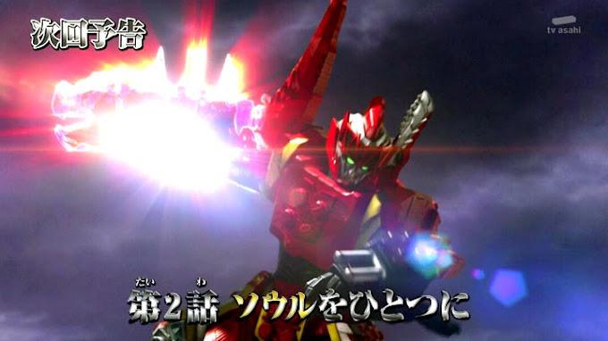 Spoiler Kishiryu Sentai Ryusoulger Episode 2, Semakin Seru!