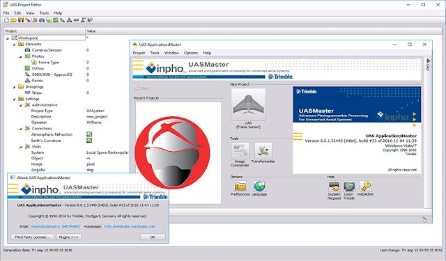 Trimble Inpho UASMaster v8.0.1.51440.x64