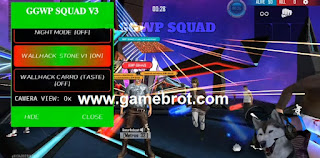 Mod Menu Free Fire GGWP Squad v3