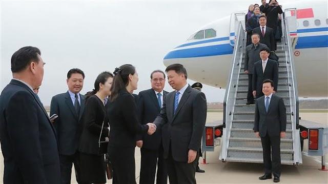 North Korean leader Kim Jong-un meets senior Chinese official