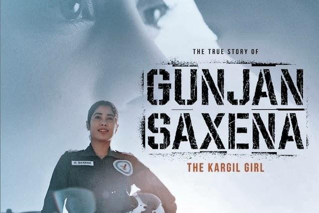 Gunjan Saxena The Kargil Girl full movie download and watch online in hd leaked by TamilRockers