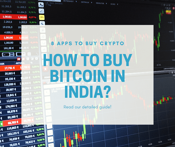 8 Apps to buy cryptocurrency in India