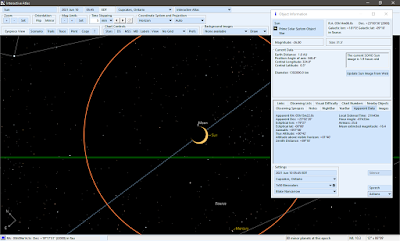 Moon and Sun in SkyTools