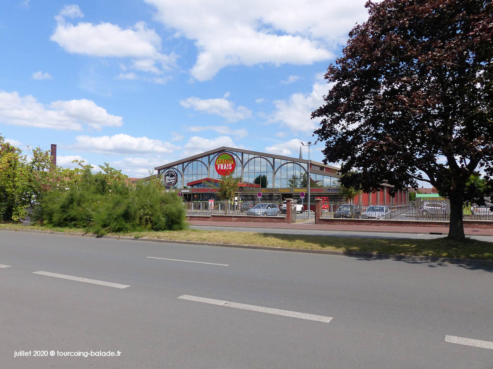 Chaussée Marcelin Berthelot, Tourcoing 2020