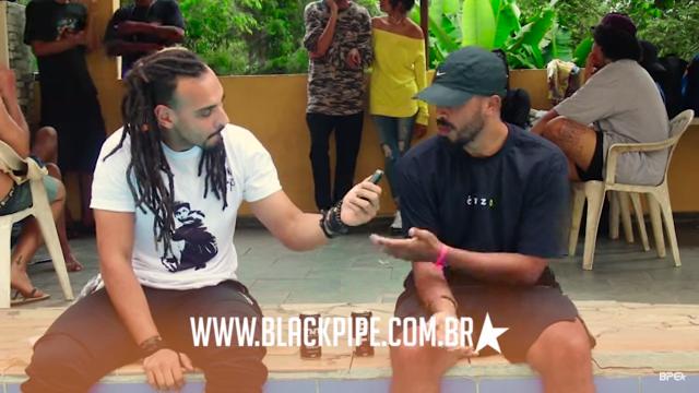 #CasadeVerãoBPE - Negus troca uma ideia com o pessoal da Black Pipe