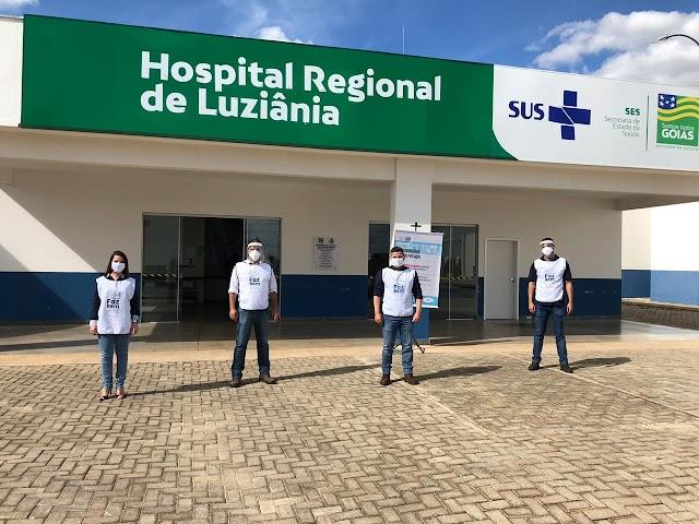 Doação da JBS chega em Luziânia