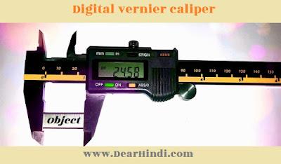 Digital vernier caliper,Digital vernier,Digital vernier caliper image