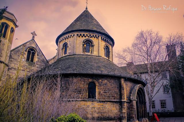 Photo: The Round Church, Cambridge