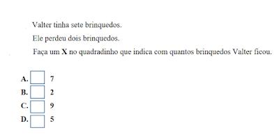 Atividades provinha brasil matemática segundo ano