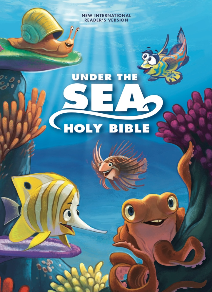 Under The Sea Holy Bible For Children Review Giveaway My Wahm Plan