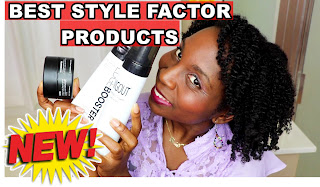 Style Factor Edge Booster Fitting Gel and Styling Cream