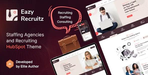 Best Staffing Agencies HubSpot Theme