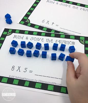 FREE Interactive Multiplication Mats