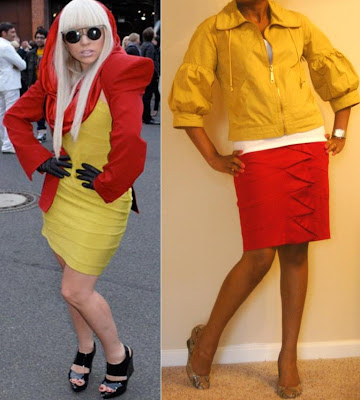 Unleashing My Inner Gaga:  Red and Yellow at Work?