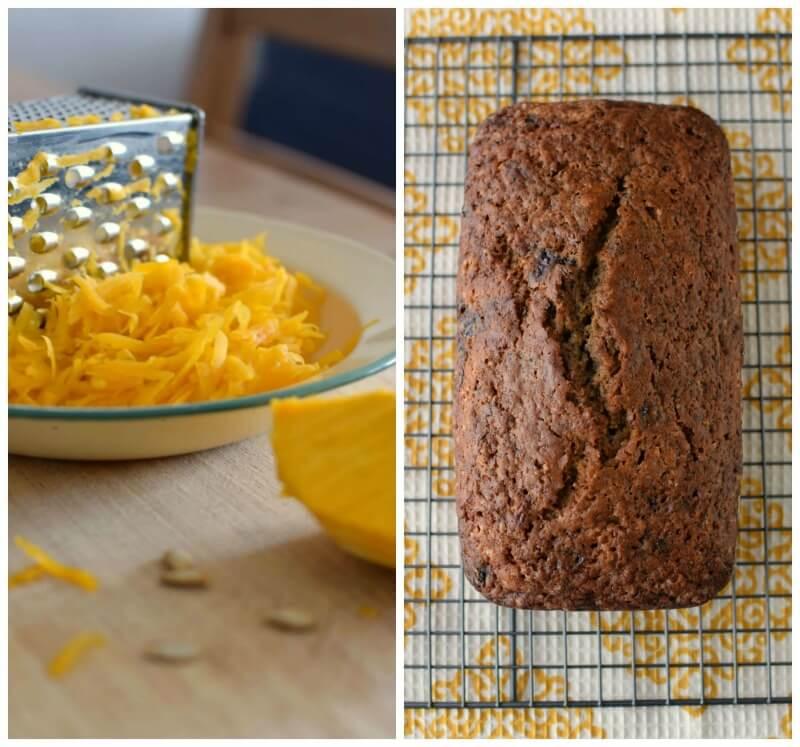 Utilizar calabaza cruda rallada para obtener un bizcocho húmedo, nutritivo y de buen sabor