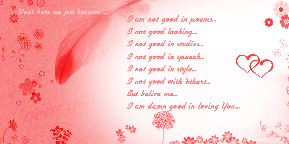 Pictures Of Romantic Love Letters | I'M So Lonely