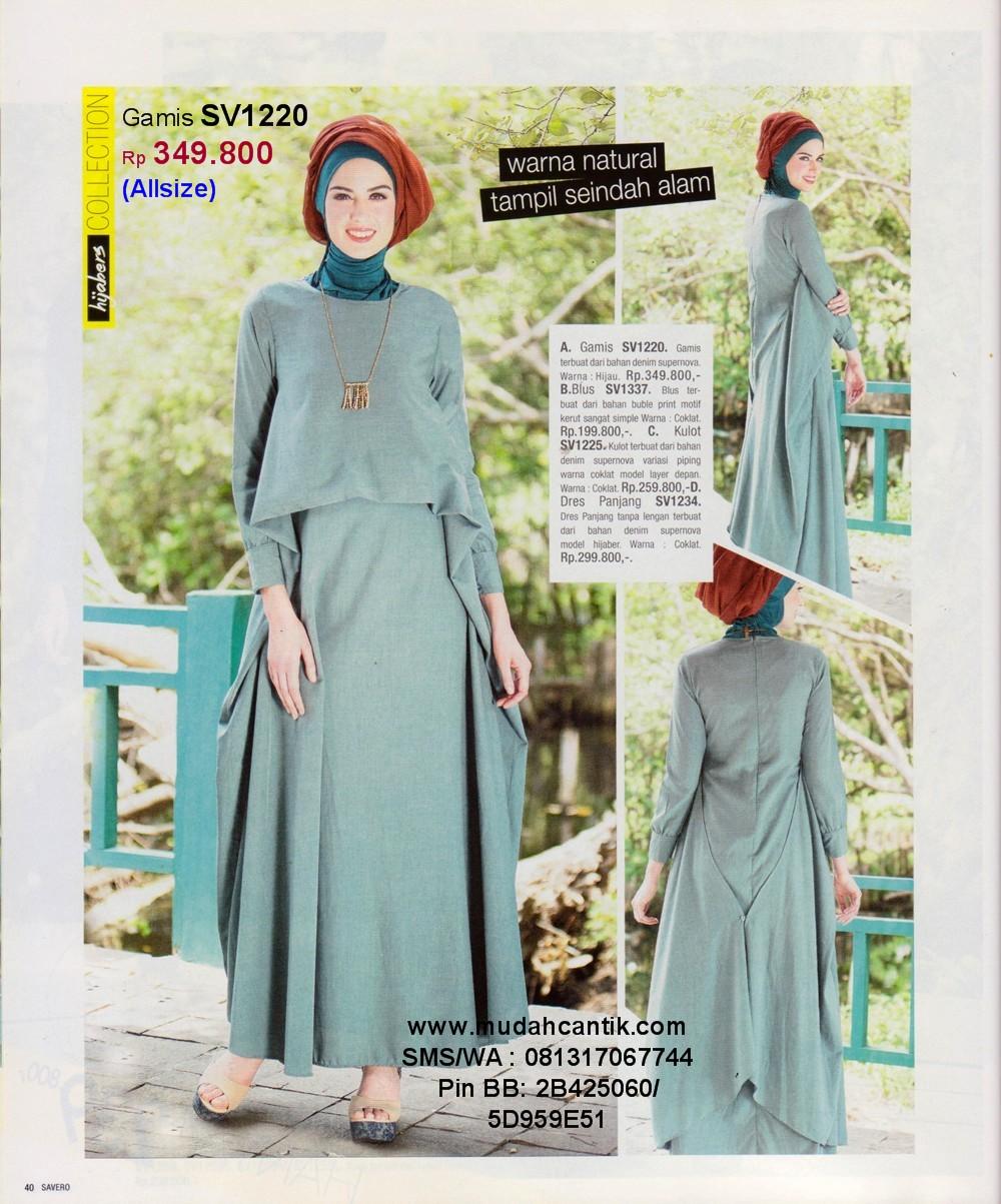 Baju Lebaran Model Gamis Simple Tapi Mewah Nusagates