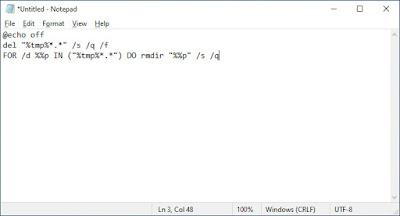Cara Menghapus File Temporary Secara Otomatis Pada Windows