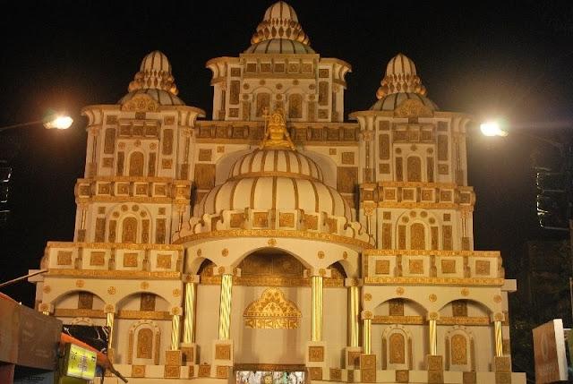 Durga Puja  Kolkata Pandal Image