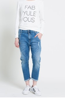 Pepe Jeans - Jeansi dama boy-friend la moda 20107