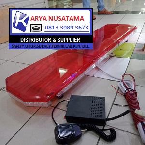 Jual Lampu Ambulan Tipis LED Merah di Surabaya