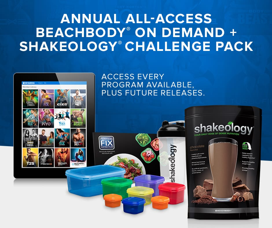 Shakeology and Fitness Programs $199 Per Year