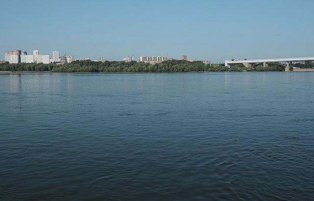 Новосибирск, река Обь (Novosibirsk, Ob river)