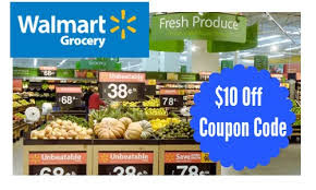 Walmart Grocery: Extra $10 Off $30+ Order