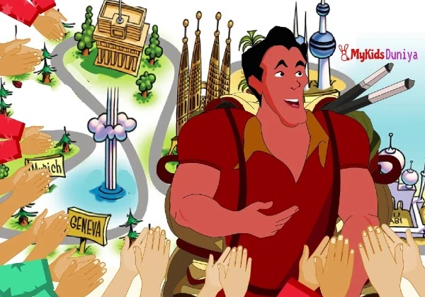 The Boasting Traveller | Moral Stories in English